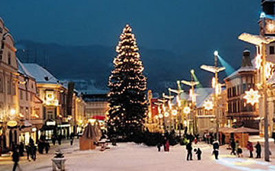 Christmas and New Year's Eve in Leoben